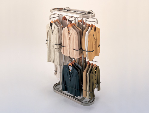 Rotary clothes storage - Unusual uses for wire coat hangers ...